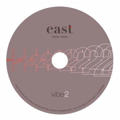 East Hongkong vibe.2 CD label