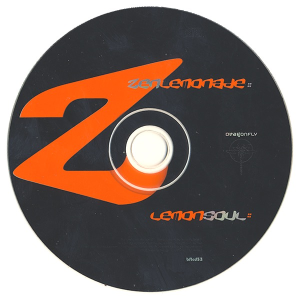 Lemon Soul CD label