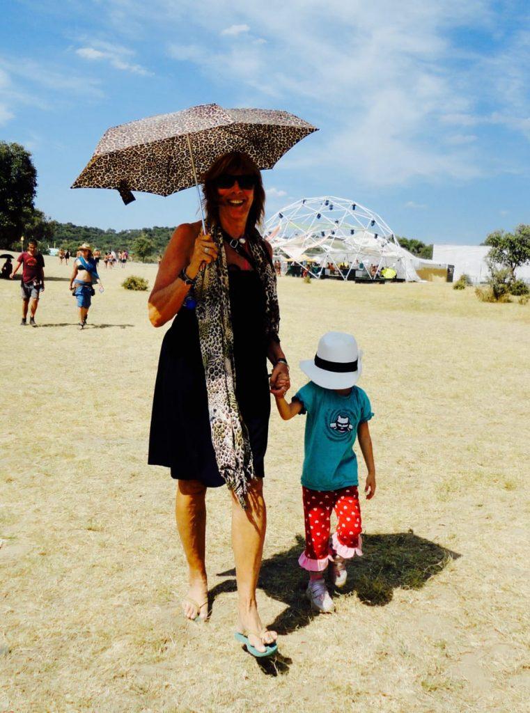 The Boom Festival 2010 ( Portugal ) - Ema and Miquette