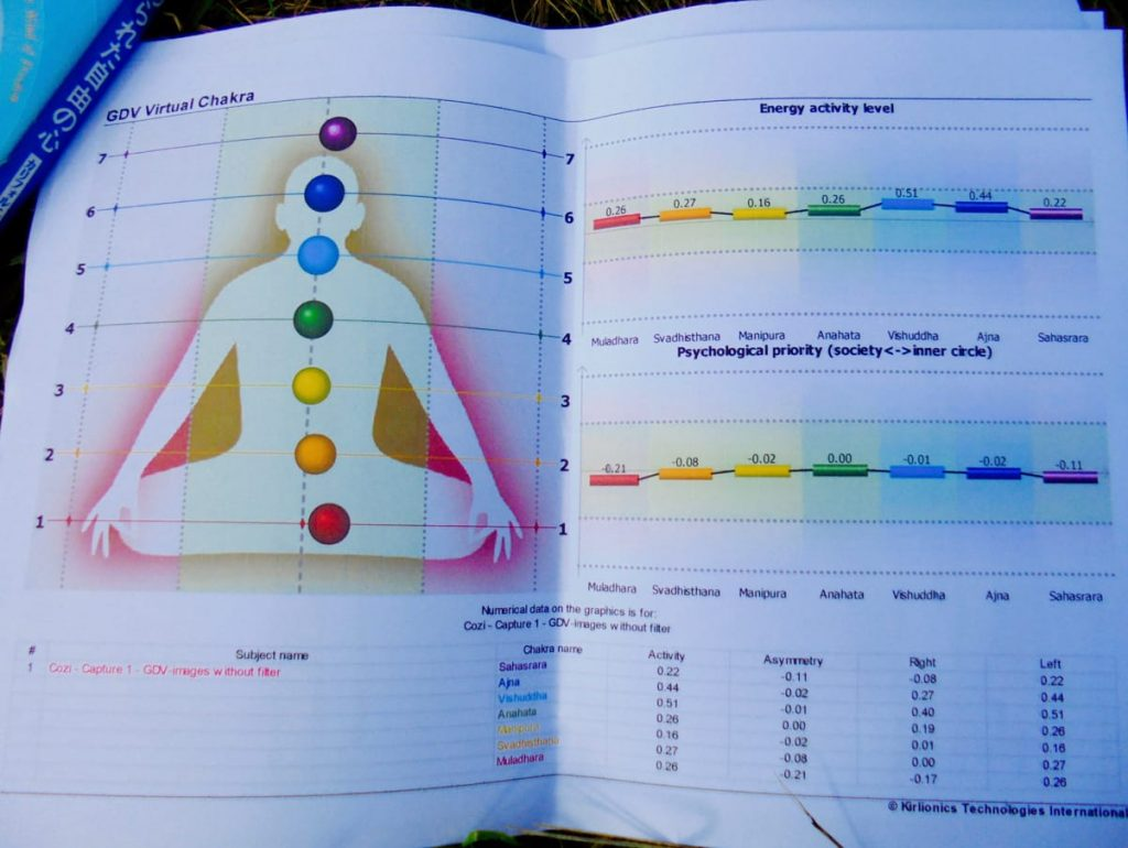 The Yaga Gathering ( Lithuania ) 2016  / Chakrta Test
