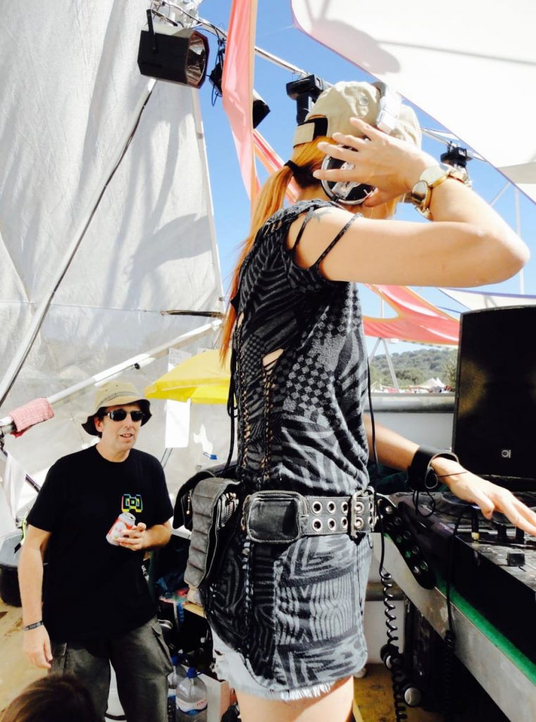 The Boom Festival 2010 ( Portugal ) - Supercozi Techno DJ set at Iboga Dome