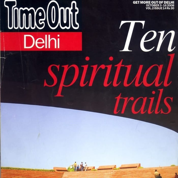 Time Out Delhi cover